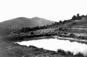 One of the lakes dug out by prisoners in 1952 – collection of Lívia Gyarmathy