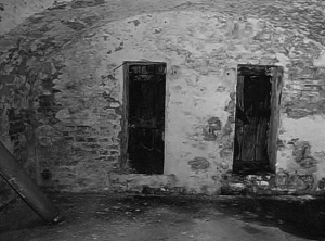 The cellar of the jail in Kistarcsa internment camp in the late 80's – collection of Barbara Bank